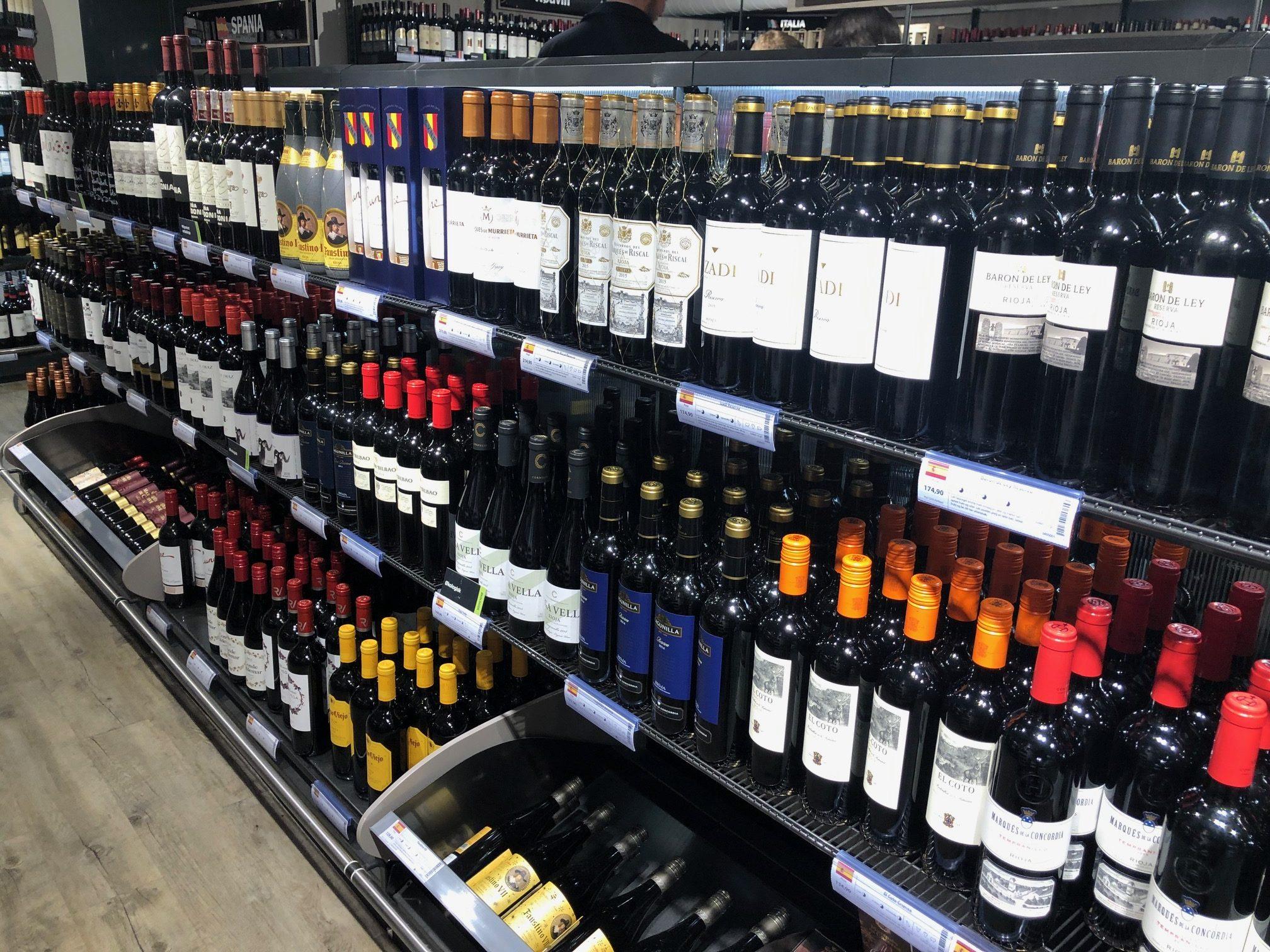 Se recupera el consumo de vino en España
